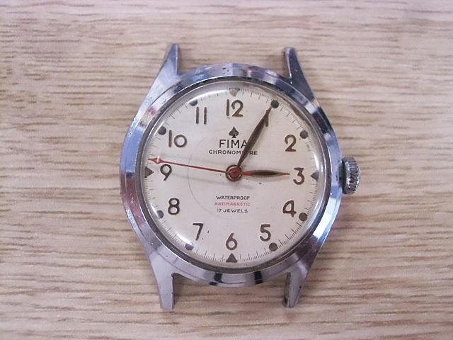 1-ジャンク時計FIMA