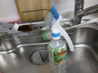サッシの溝を掃除する器具
