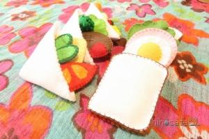 サンドイッチを作ろう!④