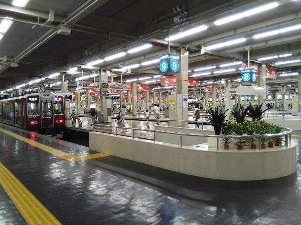 20180916用・阪急梅田駅