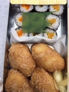 おつな寿司おいなりさんと細巻き