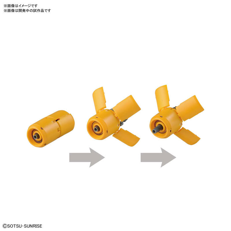 RE ヤクト・ドーガ(ギュネイ・ガス機) プラモデルTOY-GDM-3736_05