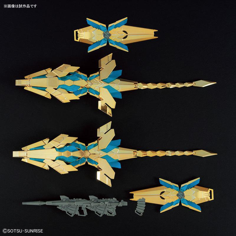 HGUC 1144 ユニコーンガンダム3号機 フェネクス(デストロイモード)(ナラティブTOY-GDM-3785_04
