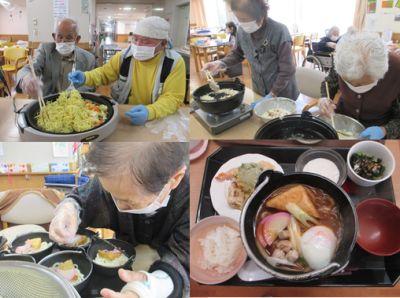 20180425 戸田川 リクエストのおやつ作り&昼食作り1