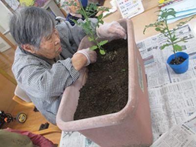 20180515 戸田川 祝!園芸部員が増員!!2