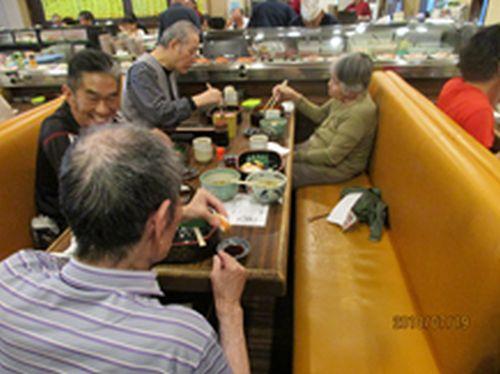 20180727名西お誕生日のお祝いに寿司を食べに行こう!!4