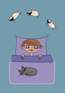 不眠症の方へ サードアイ朱雀