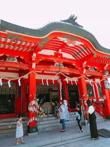 淡島神社入口