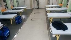 救護所内部