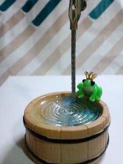 カエルの王子風メモスタンド