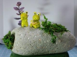 モリクラ 工房うふふ 蛙の置物