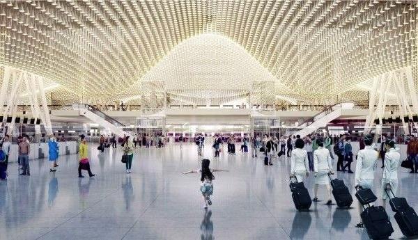 第三ターミナル完成予想図