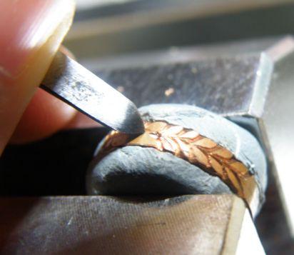 月桂樹を彫る後編 飾り (3)
