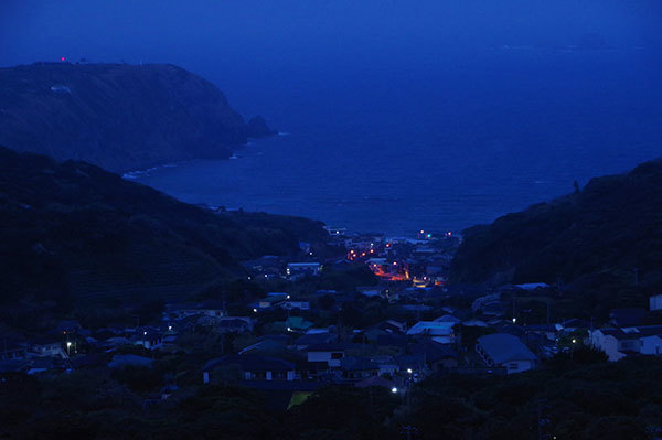 神津島の早暁
