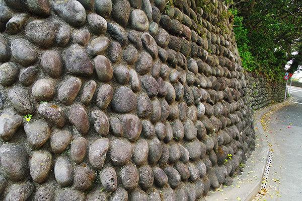 利島の玉垣