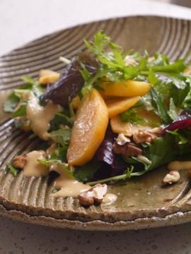 Kaki-salad