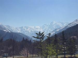 長野オリンピックが行われたスキージャンプ会場です。