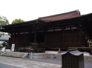 千本釈迦堂(大報恩寺)本堂