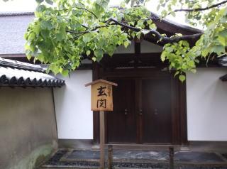 大徳寺玄関
