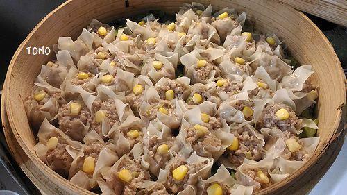 お豆腐とエノキ茸のシュウマイ