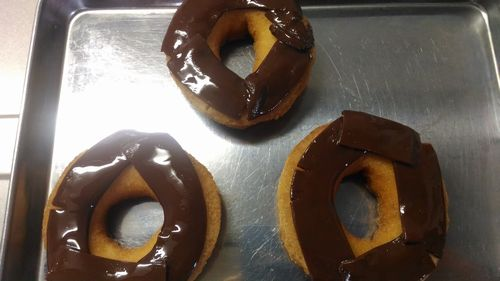 市販のドーナッツをデコって
