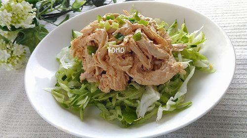 コチュジャンで棒棒鶏風サラダ