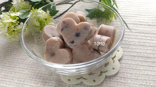 小豆の豆腐アイスキューブ1
