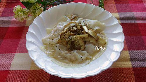 キリクリームチーズとツナ缶のラビオリ3