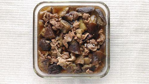 麺つゆで!なすと豚肉のくたくた煮