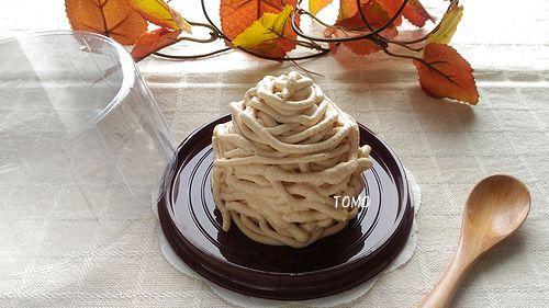 きなこモンブランロールケーキ