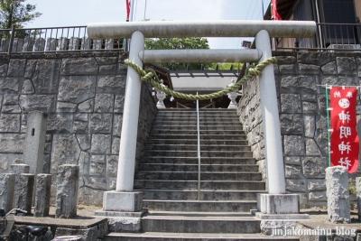 新明神社(八王子市左入町)1