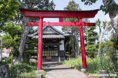 日月神社(八王子市大谷町)2