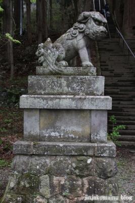 戸隠神社 宝光社(長野市戸隠)10