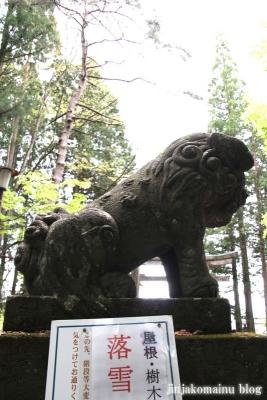 戸隠神社 宝光社(長野市戸隠)8