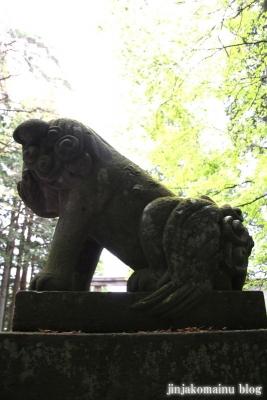 戸隠神社 宝光社(長野市戸隠)12