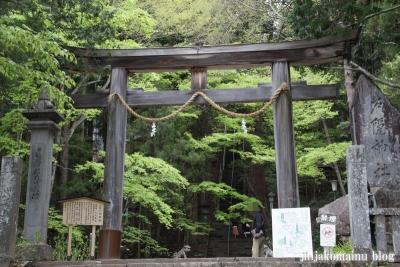 戸隠神社 宝光社(長野市戸隠)2