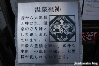 温泉神社 ( 鹿教湯温泉)2