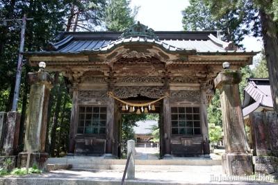 有明山神社(安曇野市穂高有明)7