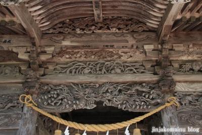 有明山神社(安曇野市穂高有明)8