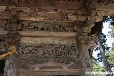 有明山神社(安曇野市穂高有明)9