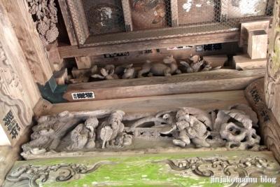 有明山神社(安曇野市穂高有明)17