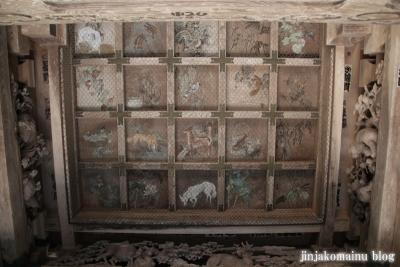 有明山神社(安曇野市穂高有明)19