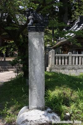 有明山神社(安曇野市穂高有明)3