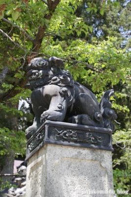 有明山神社(安曇野市穂高有明)4