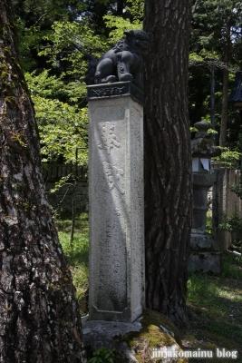 有明山神社(安曇野市穂高有明)5