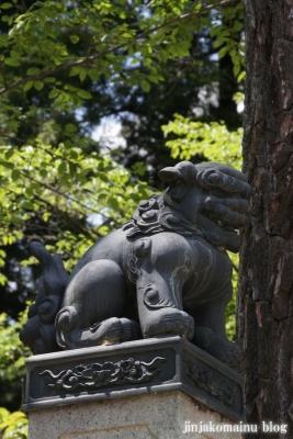 有明山神社(安曇野市穂高有明)6