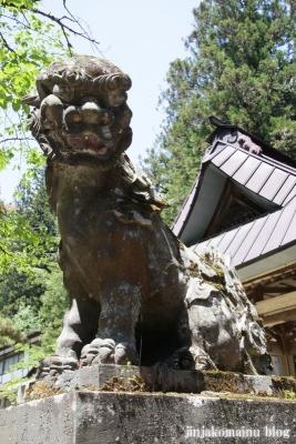 有明山神社(安曇野市穂高有明)23