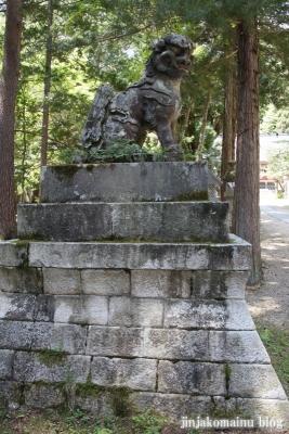 有明山神社(安曇野市穂高有明)26