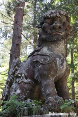 有明山神社(安曇野市穂高有明)27