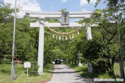有明山神社(安曇野市穂高有明)1
